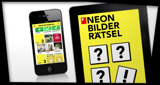iPhone- & iPad-App NEON Bilderrätsel
