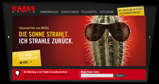 KRASS Optik Webshop